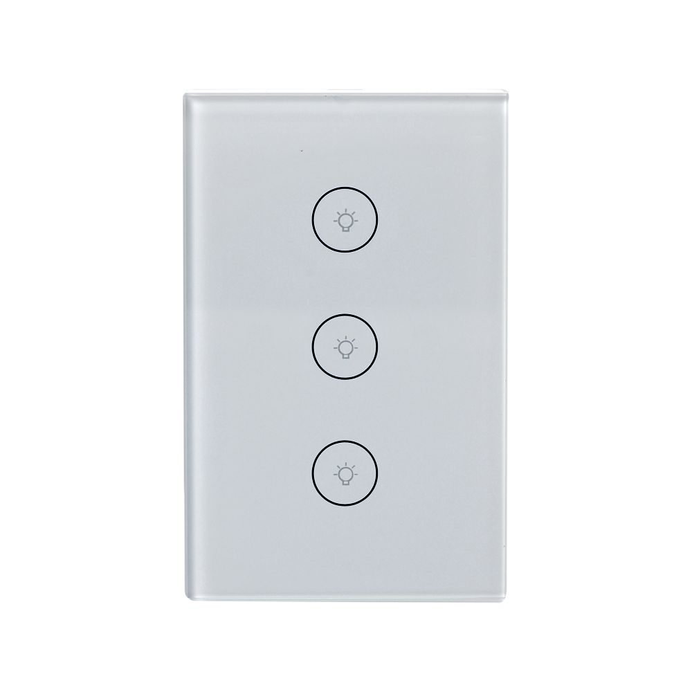 Three-gang Light Switch-US